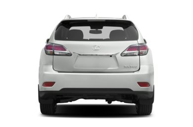 Rear Profile  2013 Lexus RX 350