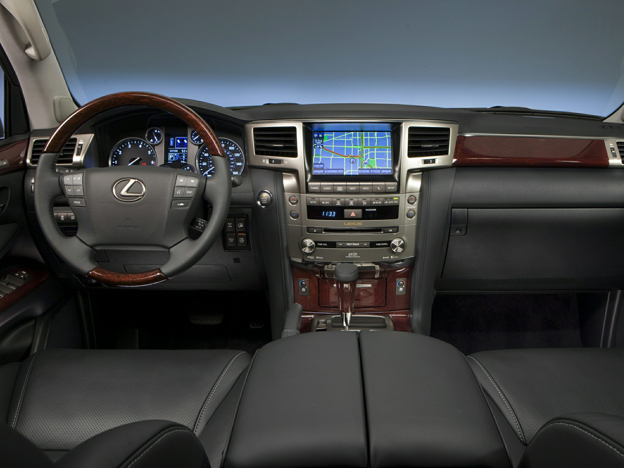 2014 Lexus LX 570 Interior