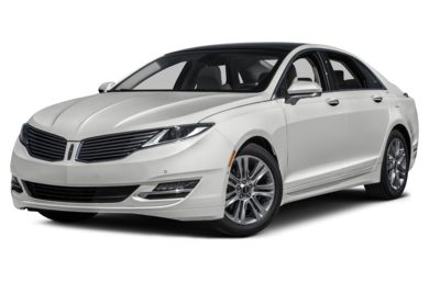3/4 Front Glamour 2014 Lincoln MKZ