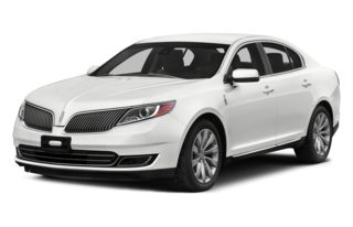 3/4 Front Glamour 2013 Lincoln MKS