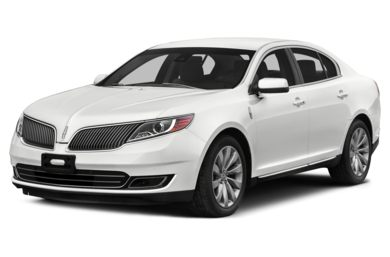 3/4 Front Glamour 2014 Lincoln MKS