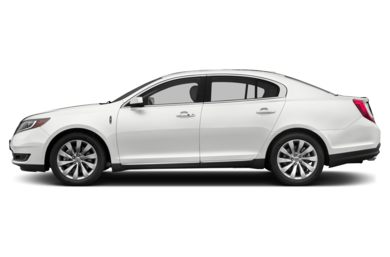 90 Degree Profile 2013 Lincoln MKS