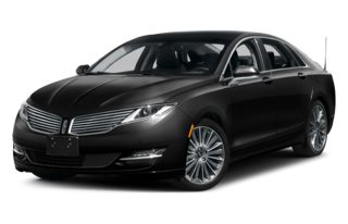 3/4 Front Glamour 2013 Lincoln MKZ Hybrid