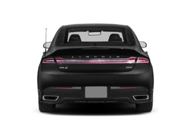 Rear Profile  2013 Lincoln MKZ Hybrid