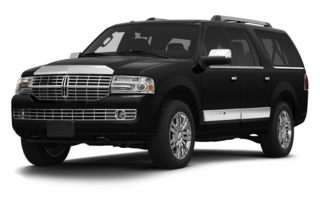 3/4 Front Glamour 2013 Lincoln Navigator L