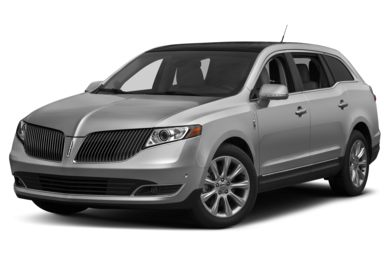 3/4 Front Glamour 2014 Lincoln MKT