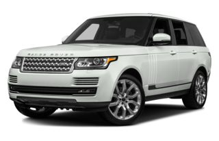 3/4 Front Glamour 2013 Land Rover Range Rover