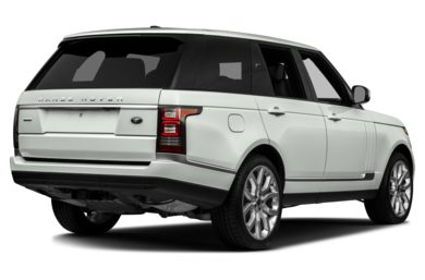 3/4 Rear Glamour  2013 Land Rover Range Rover
