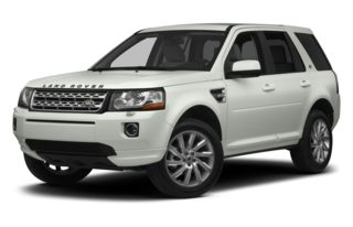 3/4 Front Glamour 2013 Land Rover LR2