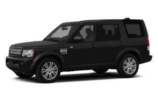 3/4 Front Glamour 2013 Land Rover LR4