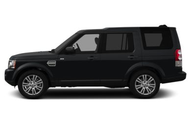 90 Degree Profile 2013 Land Rover LR4