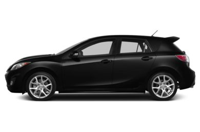 90 Degree Profile 2013 Mazda MAZDASPEED3