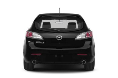 Rear Profile  2013 Mazda MAZDASPEED3