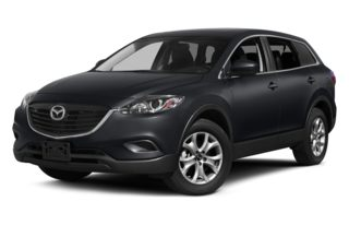 3/4 Front Glamour 2014 Mazda CX-9