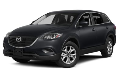 3/4 Front Glamour 2013 Mazda CX-9