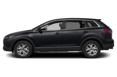 90 Degree Profile 2013 Mazda CX-9