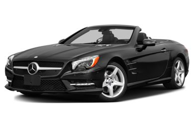 3/4 Front Glamour 2013 Mercedes-Benz SL550