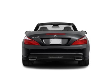Rear Profile  2013 Mercedes-Benz SL550
