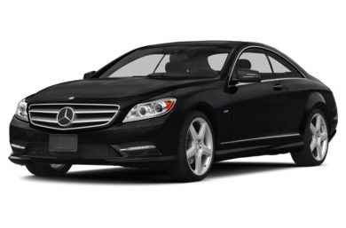 3/4 Front Glamour 2013 Mercedes-Benz CL550