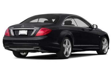 3/4 Rear Glamour  2013 Mercedes-Benz CL550