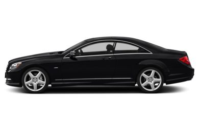 90 Degree Profile 2013 Mercedes-Benz CL550