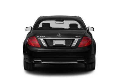Rear Profile  2013 Mercedes-Benz CL550