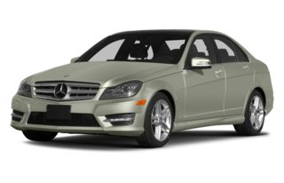 3/4 Front Glamour 2013 Mercedes-Benz C300