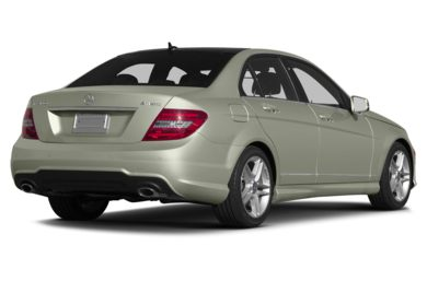 3/4 Rear Glamour  2013 Mercedes-Benz C300