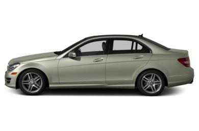 90 Degree Profile 2013 Mercedes-Benz C300