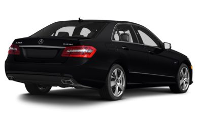 3/4 Rear Glamour  2013 Mercedes-Benz E350 BLUETEC