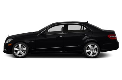 90 Degree Profile 2013 Mercedes-Benz E350 BlueTEC