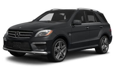 3/4 Front Glamour 2013 Mercedes-Benz ML63 AMG