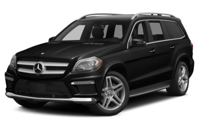 3/4 Front Glamour 2013 Mercedes-Benz GL550