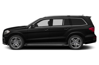 90 Degree Profile 2013 Mercedes-Benz GL550