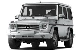 3/4 Front Glamour 2013 Mercedes-Benz G550