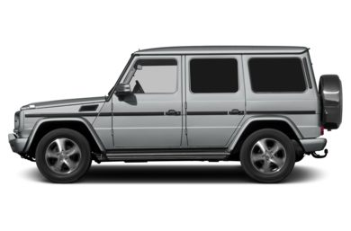 3/4 Rear Glamour  2013 Mercedes-Benz G550