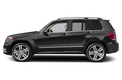90 Degree Profile 2013 Mercedes-Benz GLK350