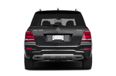 Rear Profile  2013 Mercedes-Benz GLK350