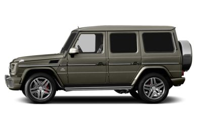 90 Degree Profile 2013 Mercedes-Benz G63 AMG