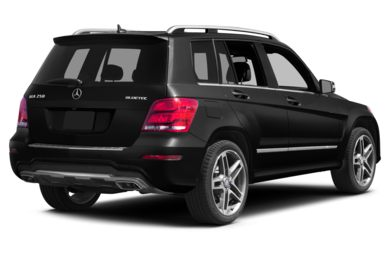 3/4 Rear Glamour  2013 Mercedes-Benz GLK250 BlueTEC