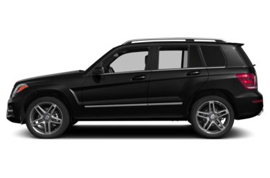 90 Degree Profile 2013 Mercedes-Benz GLK250 BlueTEC