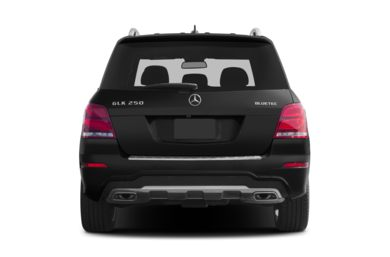 Rear Profile  2013 Mercedes-Benz GLK250 BlueTEC