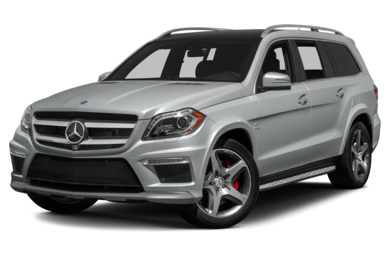 3/4 Front Glamour 2013 Mercedes-Benz GL63 AMG