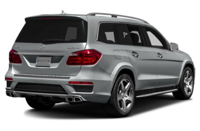 3/4 Rear Glamour  2016 Mercedes-Benz GL63 AMG