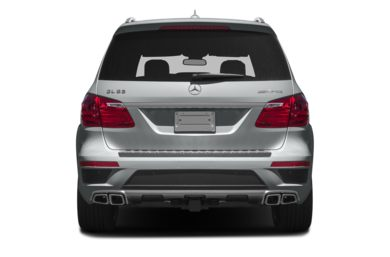 Rear Profile  2016 Mercedes-Benz GL63 AMG