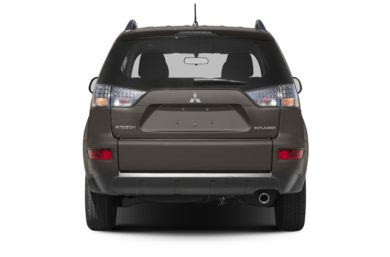 Rear Profile  2013 Mitsubishi Outlander
