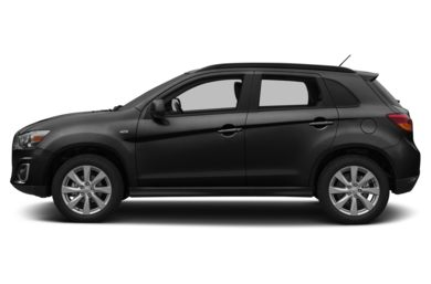 90 Degree Profile 2013 Mitsubishi Outlander Sport