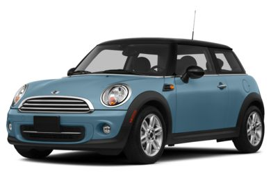 3/4 Front Glamour 2013 MINI Hardtop