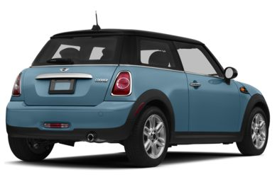 3/4 Rear Glamour  2013 MINI Hardtop