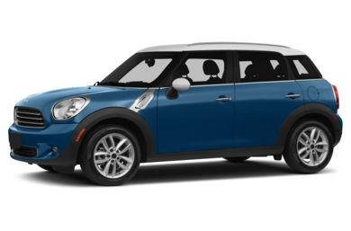 3/4 Front Glamour 2013 MINI Countryman